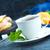 chá · verde · de · gengibre · fresco · azul · folha - foto stock © tycoon