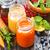 fraîches · carotte · jus · de · pomme · organique · naturelles · alimentaire - photo stock © tycoon