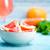 toranja · madeira · comida · fundo · vermelho · sobremesa - foto stock © tycoon