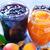 słodkie · jam · szkła · banku · tabeli · pomarańczowy - zdjęcia stock © tycoon