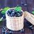 tigela · preto · groselha · comida · natureza - foto stock © tycoon
