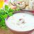 çorba · plaka · sonbahar · beyaz · biber · krem - stok fotoğraf © tycoon