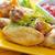 горячей · мяса · блюд · курица-гриль · крыльями · красный - Сток-фото © tycoon