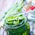 bank · komkommers · geïsoleerd · witte · voedsel · home - stockfoto © tycoon