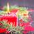 advent · çelenk · şömine · ışık · tatil · kutlama - stok fotoğraf © tycoon
