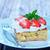 izolált · eper · desszert · tányér · stúdió · friss - stock fotó © tycoon