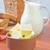manteiga · vidro · cozinha · bolo · pão · queijo - foto stock © tycoon