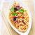 salada · tomates · lula · fresco · prato - foto stock © tycoon