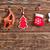 natal · decoração · mesa · de · madeira · luz · fundo · dom - foto stock © tycoon