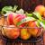 metaal · mand · tabel · Rood · vruchten · witte - stockfoto © tycoon