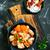 knoflook · klaar · traditioneel · Italiaans · eten · voedsel · achtergrond - stockfoto © tycoon