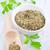 picado · perejil · cuchara · de · madera · cocina · la · preparación · de · alimentos · madera - foto stock © tycoon