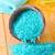 blue sea salt on the wooden table stock photo © tycoon