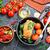 kisajtolás · kacsa · zöld · rusztikus · kenyér · kés - stock fotó © tycoon