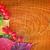 サンクスギビングデー · フロントドア · 花輪 · 秋 · 葉 · カボチャ - ストックフォト © tycoon