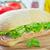 prosciutto · sandwich · brood - stockfoto © tycoon