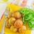dienblad · rustiek · rosmarijn · aardappel - stockfoto © tycoon