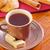 Kína · finom · étel · szójaszósz · tej · reggeli - stock fotó © tycoon