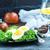jaj · Sałatka · świeże · zdrowych - zdjęcia stock © tycoon