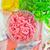 地上 · 肉 · 食品 · 表 · 赤 · 脂肪 - ストックフォト © tycoon