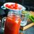 naturales · jugo · de · tomate · frescos · pequeño · botellas · verano - foto stock © tycoon