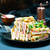служивший · клуба · Бутерброды · картофельные · чипсы · продовольствие - Сток-фото © tycoon