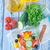 wortel · kaas · kruiden · mooie · vers · voedsel · glas - stockfoto © tycoon