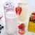iogurte · sobremesa · framboesa · acima · vidro · congestionamento - foto stock © tycoon