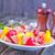 kebap · et · biber · plaka · gıda · turuncu - stok fotoğraf © tycoon