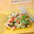 saine · végétarien · salade · saumon · blanche · plaque - photo stock © tycoon