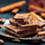 quebrado · chocolate · barras · mesa · de · madeira · foco - foto stock © tycoon