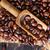 chicchi · di · caffè · tavolo · in · legno · coltello · piano · colazione · vintage - foto d'archivio © tycoon