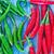 赤 · 緑 · 唐辛子 · ライブ · 工場 · 食品 - ストックフォト © tycoon