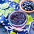 zwarte · bes · jam · voedsel · hout · blad - stockfoto © tycoon