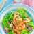 salata · kırmızı · limon · beyaz · yemek · hat - stok fotoğraf © tycoon