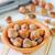 hoop · hazelnoten · geïsoleerd · witte · textuur · voedsel - stockfoto © tycoon