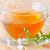 friss · zöld · tea · üveg · edény · vízszintes · fotó - stock fotó © tycoon