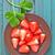 eper · desszert · eprek · tejszínhab · porcukor · kakaó - stock fotó © tycoon