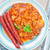 frito · repolho · batata · estoque · foto · comida - foto stock © tycoon