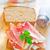 salsiccia · formaggio · sandwich · foto · alimentare - foto d'archivio © tycoon