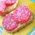 ハム · サラミ · トースト · 木材 · 朝食 · 野菜 - ストックフォト © tycoon