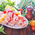 marinato · greggio · carne · erbe · spezie · aglio - foto d'archivio © tycoon