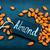amandel · drogen · tabel · voorraad · foto · voedsel - stockfoto © tycoon