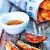 魚 · チップ · トレイ · 表 · ディナー - ストックフォト © tycoon
