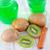frescos · kiwi · alimentos · vidrio · fondo · color - foto stock © tycoon