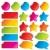 coloré · vente · autocollants · étiquettes · isolé - photo stock © ultrapop