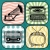 antigas · rádio · vintage · fundo · música · madeira - foto stock © ultrapop