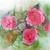 róż · wody · Fotografia · trzy · kroplami · wody · biały - zdjęcia stock © ultrapro