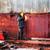 worker welds the wall of steel fuel tank stock photo © ultrapro