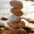 dengeleme · zen · taşlar · piramit · kum · renkli - stok fotoğraf © ultrapro